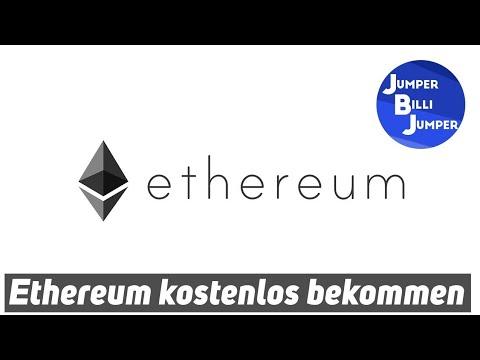 Ethereum kostenlos bekommen