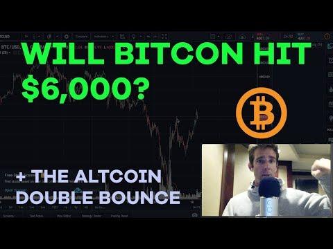 Will Bitcoin Break $6K? Filling The Gap, Altcoin Double Bounce, Blockchain Ether – CMTV Ep63