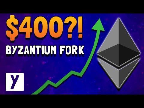 Ethereum Byzantium Fork Price Skyrockets! $400 Soon?!