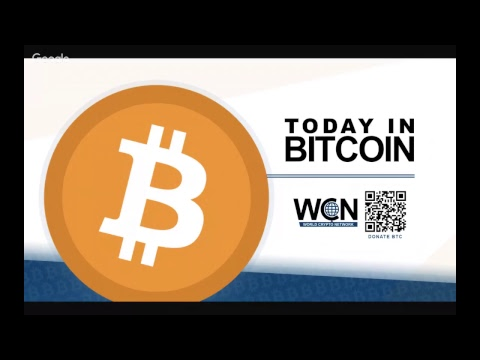 Today in Bitcoin News Podcast (2017-10-23) – Institutional Money – Giffen Good – Amazon Bubble