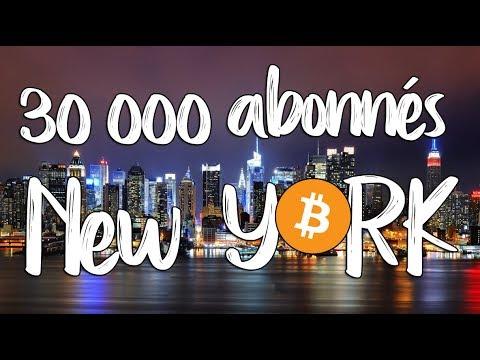 30.000 abonnés, Projet New York Bitcoin [Novembre 17] &  Ledger Blue!