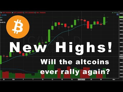 New Bitcoin Highs! | Update on ETH, LTC, OMG, NEO