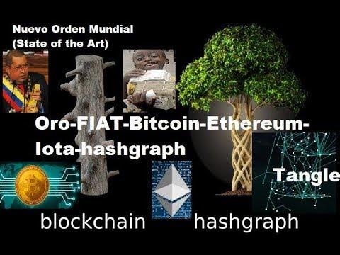 Hashgraph, Iota, Ethereum, Bitcoin, Fiat, Oro (State of the Art)