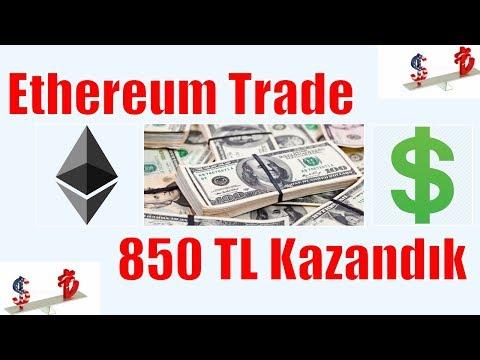 Ethereum Trade İle 850 TL Kazandık – Uygulamalı Trade Gösterimi – Ethereum Nasıl Alınır Satılır?