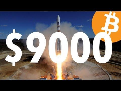 Bitcoin Breaks $9000 Barrier   Coinbase Adds 100,000 New Accounts   HODL