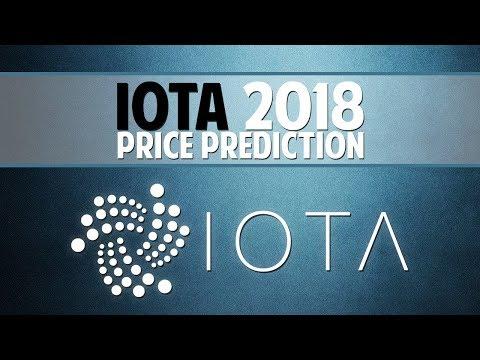 IOTA 2018 price prediction – Solving the biggest crypto problems
