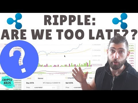 Ripple Are we too late?