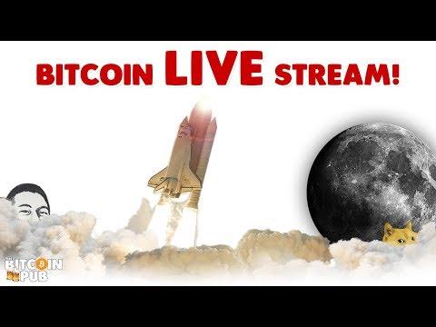 Bitcoin Cash on the Rise! IT'S ALIVE!!! – Bitcoin LIVE Stream!
