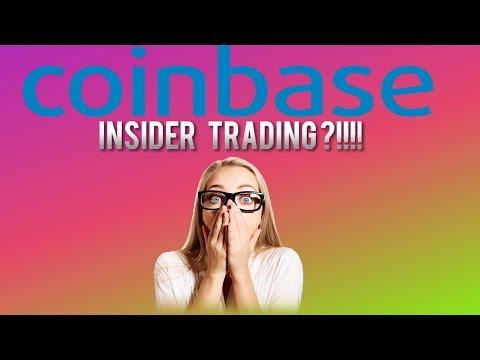 Coinbase CAUGHT INSIDER TRADING BITCOIN CASH  !?