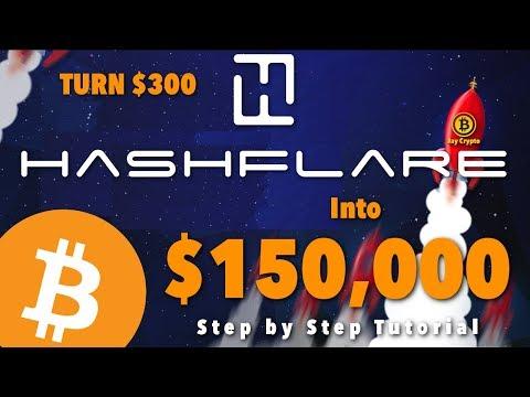Hashflare Bitcoin Mining | How to Turn $300 into $150,000
