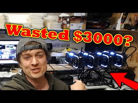 Noob Tries to build a Bitcoin Mining Rig – £2200 down the pan??