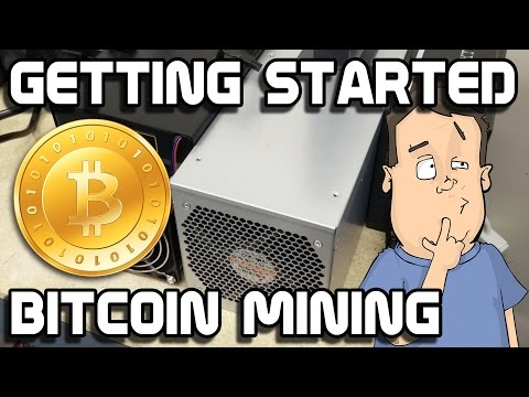 How to BitCoin mine using fast ASIC mining hardware