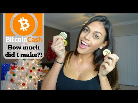 Bitcoin Cash Added to Coinbase | How much did I make?!