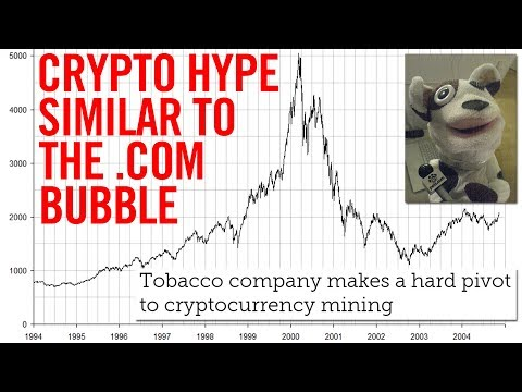 CRYPTOCURRENCY AND THE DOT COM BUBBLE