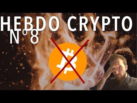[Hebdo Crypto] Bitcoin s'écroule, BITCOIN CASH = BITCOIN ?