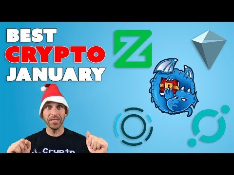 Top Cryptocurrency Jan 2018 – Zcoin, Icon, Lisk (plus some surprises!)