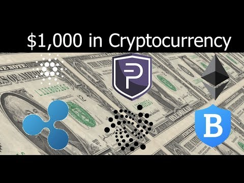 $1,000 in Cryptocurrency Forked into Altcoins