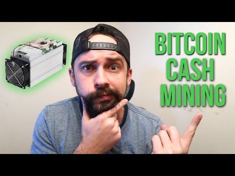 Antminer S9 Bitcoin Cash Mining