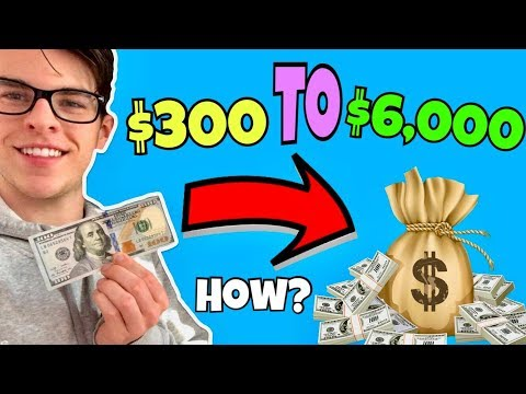 How I Turned $300 To $6,000 Investing In Cryptocurrency    What To Buy?