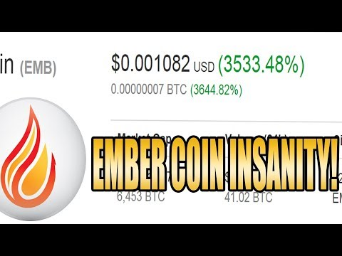 The Insanity Of Cryptocurrency 3000% Gains – EmberCoin climb to moon