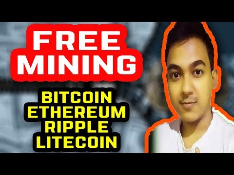 Free Mining – Bitcoin, Ethereum, Ripple, Litecoin |Cryptocurrency cloud mining|