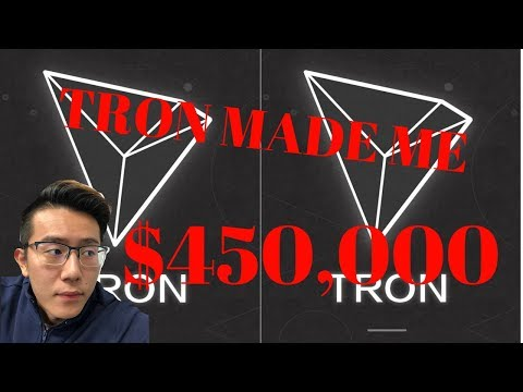 TRON MADE ME $450,000 | $TRX Cryptocurrency Updated Price Prediction | Tron Cryptocurrency Review