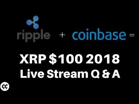 Crypto Cody Live Stream Ripple Xrp $3 Q & A: Xrp to $100 in 2018, $100 million Xrp Hedge Fund Live