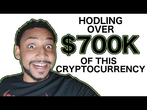 HODLING OVER $700K OF THIS CRYPTOCURRENCY – Aaron St. Hilaire