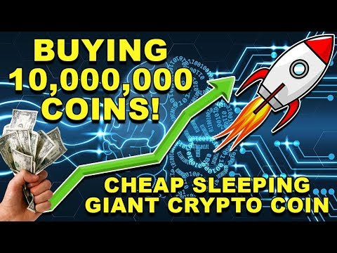 BUYING 10 MILLION ALTCOINS! – Sleeping GIANT?! – Next PACCOIN? – XRY Royalties CryptoCurrency