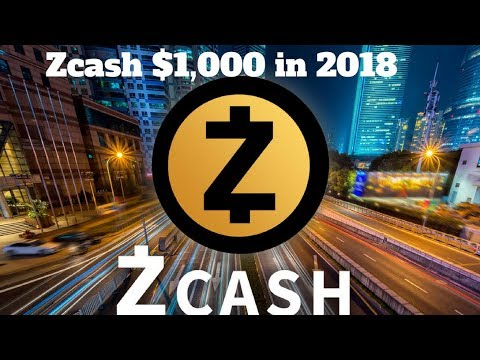Why ZCASH Will Hit $1,000 in 2018