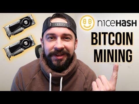 NiceHash Bitcoin Mining