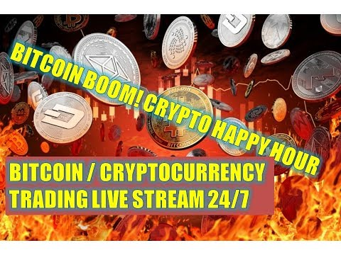 Bitcoin BOOM! ? Crypto Happy Hour – Bitcoin / Cryptocurrency Trading Live Stream 24/7 (Clif High)