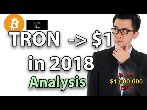 TRON HITTING $1 IN 2018? (Cryptocurrency Technical Analysis)