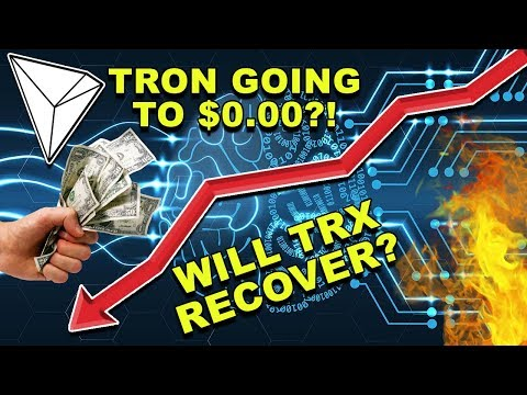 How Low Will Tron Go? – Should You Sell TRX? – Will Tron Recover? – Tron TRX CryptoCurrency News
