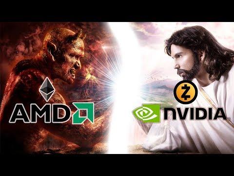 Что майнить на NVIDIA / AMD в 2018? ETH – эфир или ZEC – зикеш? Какие карты для какой монеты?