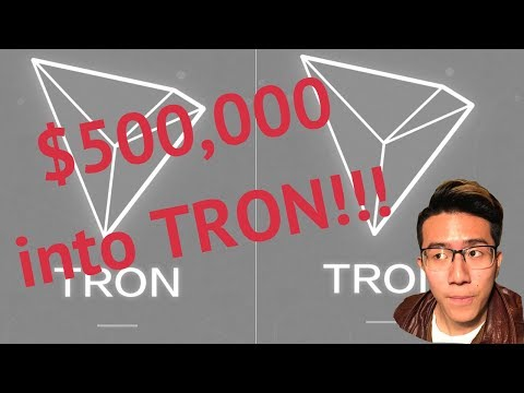 WHY I BOUGHT $500,000 TRON on Binance [$TRX crptocurrency review] You Need to Buy Trx