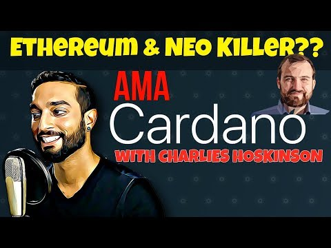 LIVE: AMA With Charles Hoskinson of Cardano!