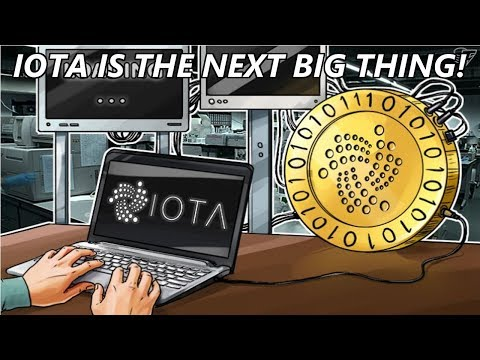 Why IOTA is the Next Big Thing In Cryptocurrencies!
