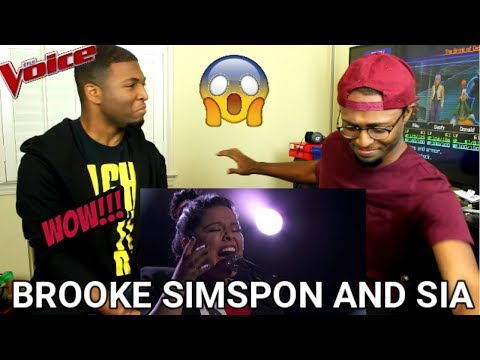 "The Voice 2017 Brooke Simpson and Sia – Finale: ""Titanium"" (REACTION)"