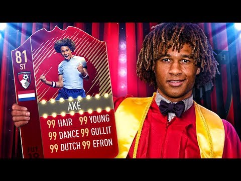 OMG THE STRIKER NATHAN AKE HAT TRICK CHALLENGE! BEST BOURNEMOUTH SQUAD! FIFA 18 ULTIMATE TEAM
