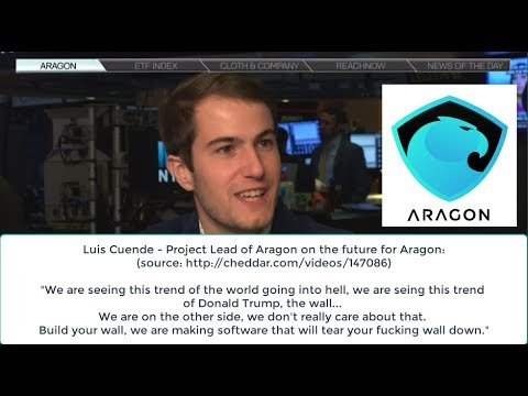 Luis Cuende – Project Lead of Aragon on the future for Aragon