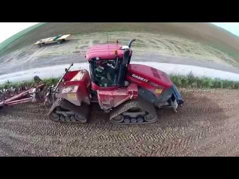 [NEWS 2015] CASE IH STX 600 et FENDT 939 au semi de blé