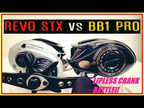 ABU GARCIA REVO4 STX VS LEWS BB1 PRO: LIPLESS CRANK CASTING CONTEST