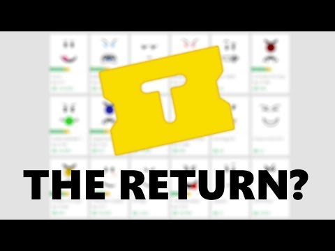 The RETURN of TIX!? – Roblox 2017
