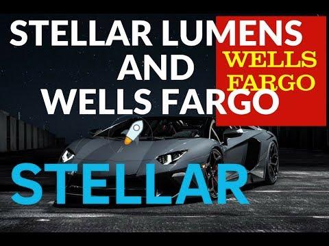 Stellar Lumens and Wells Fargo? Is it true?