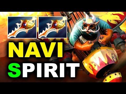 NAVI vs SPIRIT – 2x RAPIERS MEGAS OMG!!! – CIS FINAL GESC JAKARTA DOTA 2