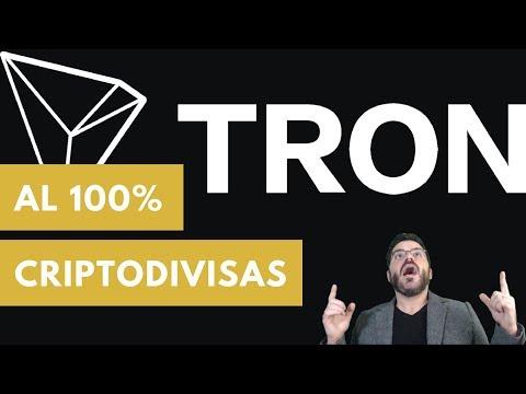 Que es TRON? Echemos una mirada más a fondo a la criptomoneda TRON sus ventajas y de mas!