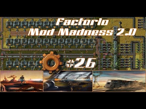 Factorio Mod Madness 2.0 – Rail Blocks #26