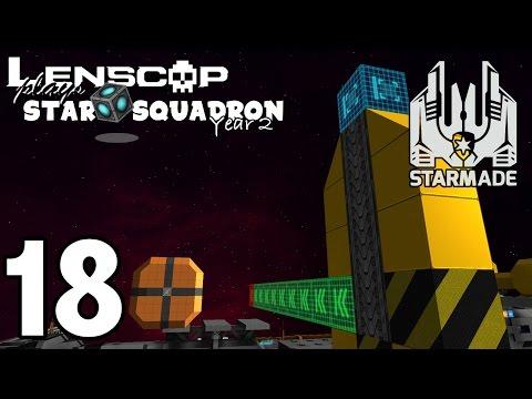 StarMade: STAR SQUADRON – S2E18 – Testing The New Rail Blocks