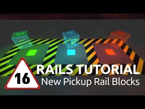 Starmade Rails – 16 – New Pickup Rail Blocks